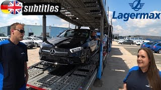 Autószállítás kamionnal - Lagermax