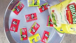 Bubble Gum Fry In Oil Experiment | New Experiments Videos 2019 | Experiments videos in hindi