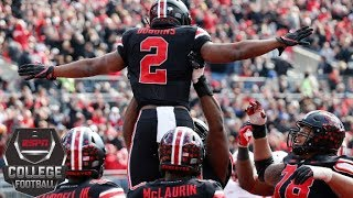 No. 10 Ohio State hangs on to beat Nebraska College Football Highlights