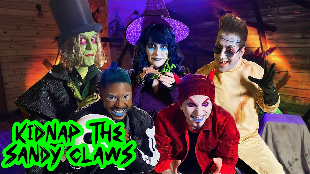 Download KIDNAP THE SANDY CLAWS   The Nightmare Before Christmas   VoicePlay Feat. Rachel Potter