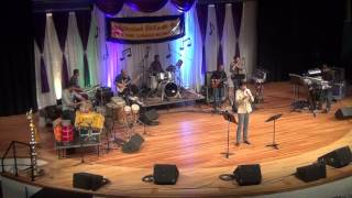 """Om Sivoham"" by Vijay Prakash at Michigan Tamil Sangam Mega Music Event on April 17, 2016."