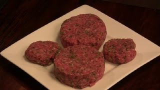 How To Make Juicy Hamburgers Out Of Lean Ground Beef : Burger Cooking Tips