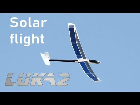 Unmanned Solar Airplane V3 - Record 16 h flight