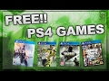 HOW TO GET FREE GAMES ON PS4 - FREE PS4 GAMES AFTER PATCH 4.07 WORKING 2017 (NO CREDITCARD)
