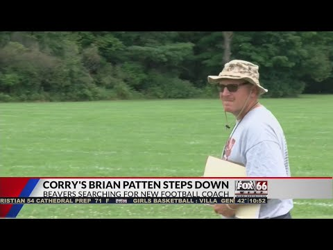 Corry's Patten steps down