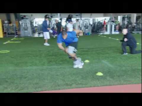 Ndamukong Suh: NFL Combine Pro-Agility Training