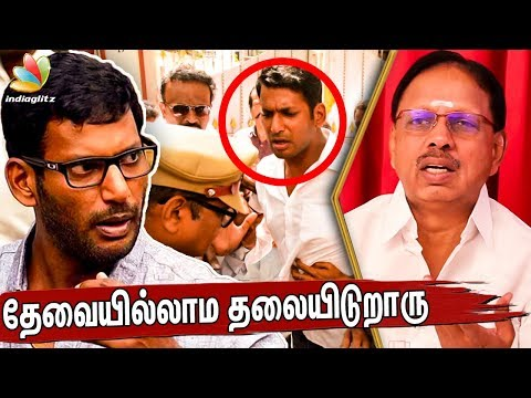 Solve the Producer Council Issue First : Tirupur Subramaniam Interview   Vishal Arrest