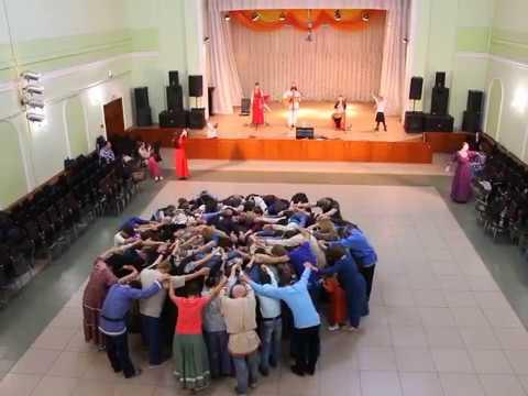 ЖИВАЯ АСТРА (хороводы на концерте гр. Аурамира)