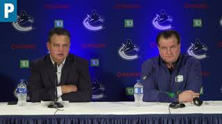 Canucks: Opening day with Jim Benning and Travis Green    The Province
