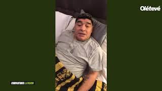 Maradona habló de la Selección y River en su Instagram