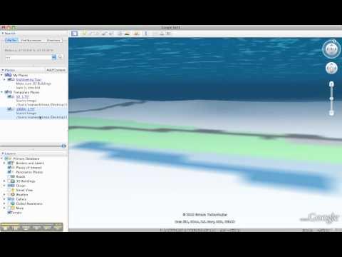 Google Earth Bathymetry and Nautical Charts - YouTube