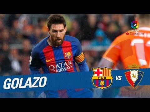 Golazo de Messi (4-1) FC Barcelona vs Osasuna
