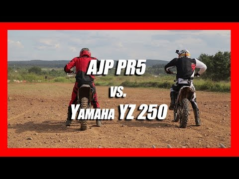 AJP PR5 | Practicing holeshots | YZ250
