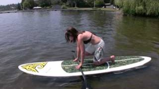 How to Stand Up Paddleboard Video- MotionBoardshop.com