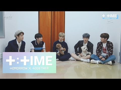 [T:TIME] 'Cat & Dog' interview with puppies - TXT (투모로우바이투게더)