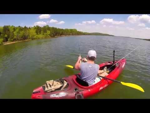 Kayak Bass Fishing - Old Town Vapor 10