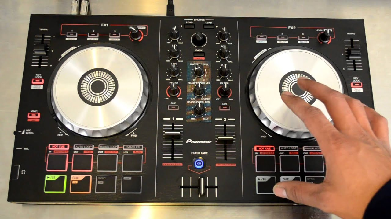 Pioneer DDJ-SB Serato Intro Digital DJ Controller Review ...