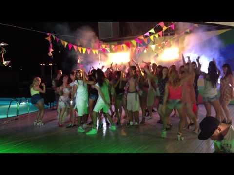 Съемки клипа группы Rumberos