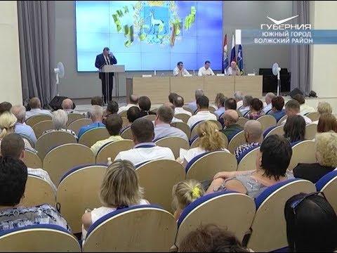 Будущее Волжского района жители обсудили с руководителем Самарской области