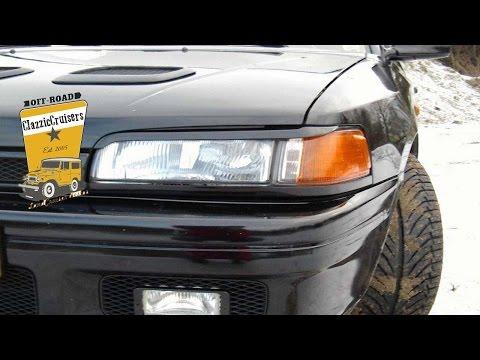Mazda 323 GTX Turbo 4x4 - especially developed for homologation purposes