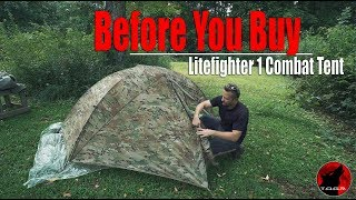 Before You Buy - LiteFighter 1 Combat Tent - Setup
