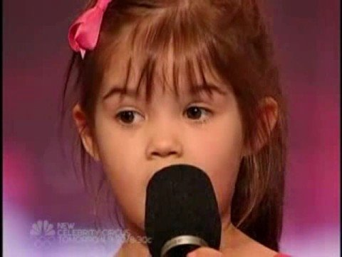 4 Year Old kaitlyn Maher America's Got Talent Audition