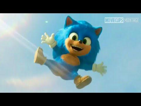 Baby Sonic Opening Scene Sonic The Hedgehog 2020 Full Movie Clip Hd 1080p 60fps Youtube