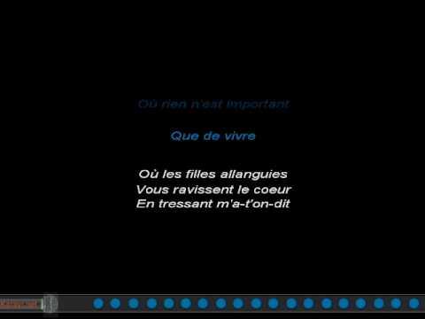 Karaoké Français - Charles Aznavour - Emmenez-moi