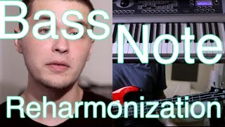 Bass Note Reharmonization (A Bassist's Secret Weapon) [ AN's Bass Lessons #3 ]
