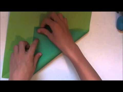 Origami Pureland Iso Area Pinwheel Tutorial