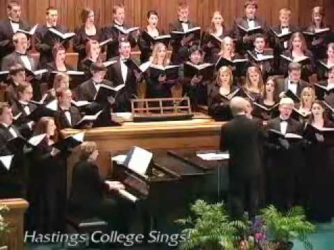 Begin the Beguine (The Hastings College Choir)
