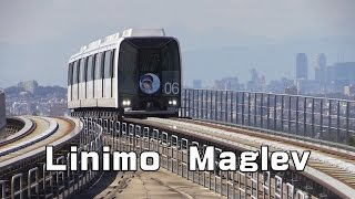 Linimo Maglev 磁気浮上式鉄道「リニモ」 前面展望① 藤が丘▶八草