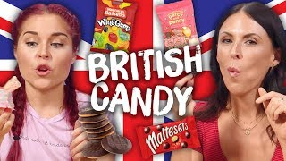 Americans Try British CANDY! (Cheat Day)