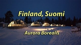 Finland, Suomi, Northern Lights, Aurora Borealis