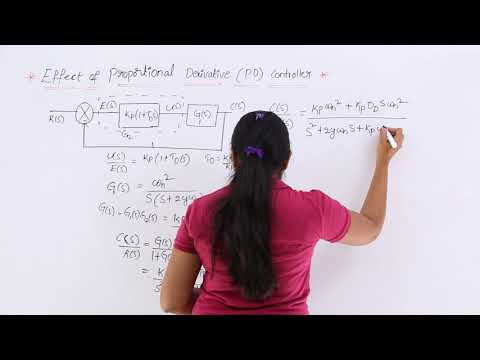 Effect of Proportional Derivative Controller