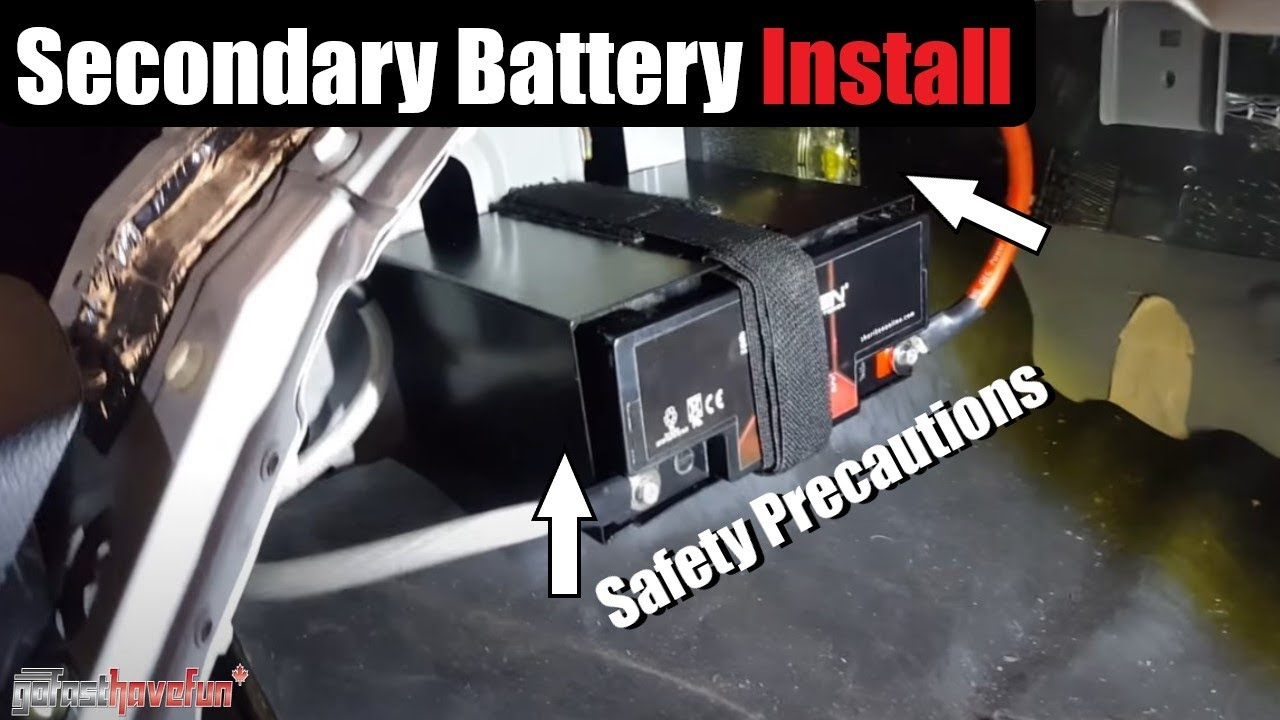 maxresdefault second battery relocation install (nissan 350z) youtube 350z fuse box behind battery at webbmarketing.co