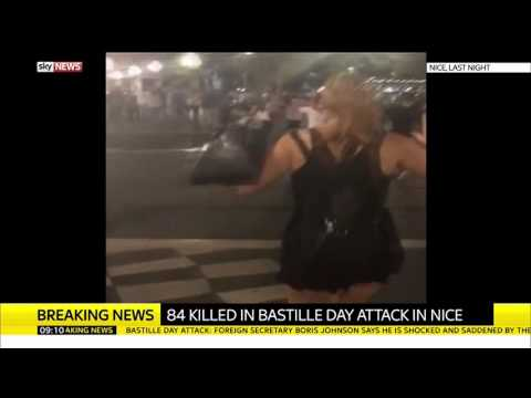 Footage From Bastille Day Attack In Nice