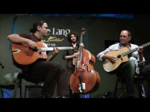 "Stochelo Rosenberg & Salvatore Russo Gypsy Jazz Trio @ Eddie Lang Jazz Festival -""Bossa Dorado"""