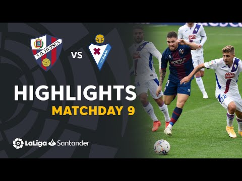 Huesca Eibar Goals And Highlights