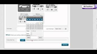 Despatch Link Taxi & Cab Web Booker Mini Demo Make a booking