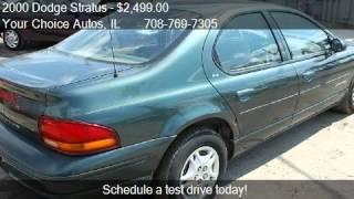 2000 Dodge Stratus SE - for sale in Posen, IL 60469