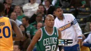 Epic BATTLE Stephen Curry vs Ray Allen + Rondo