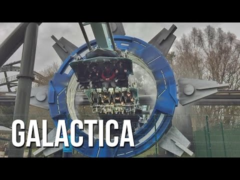 Galactica VR Coaster, Alton Towers