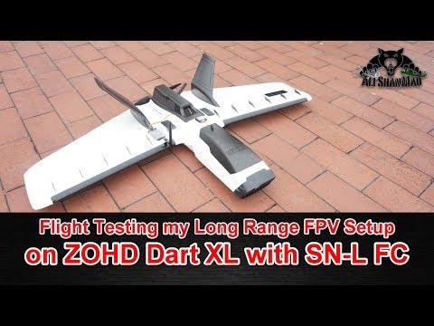 SN Lite Fixed Wing Long Range FPV Flight Controller Pixel OSD Metal Body