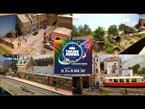 Expo TRAINSMANIA à LILLE Grand Palais du 28 au 30 avril 2017