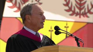 122nd Commencement Ceremony 2013 - Stanford University keynote speech by Mayor Michael Bloomberg