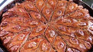 Как приготовить вкуснейшую пахлаву Бакинскую - ароматную, нежную, сочную и просто тающую во рту.