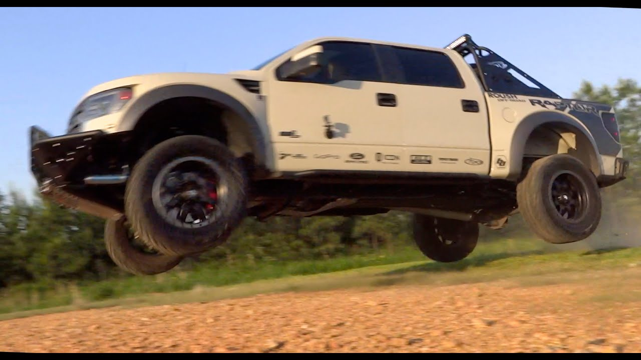 Jumping A Custom Ford Raptor Youtube
