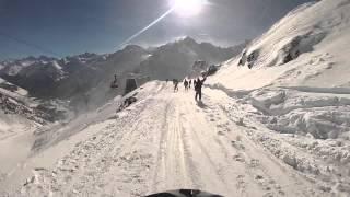 видео лыжи горные