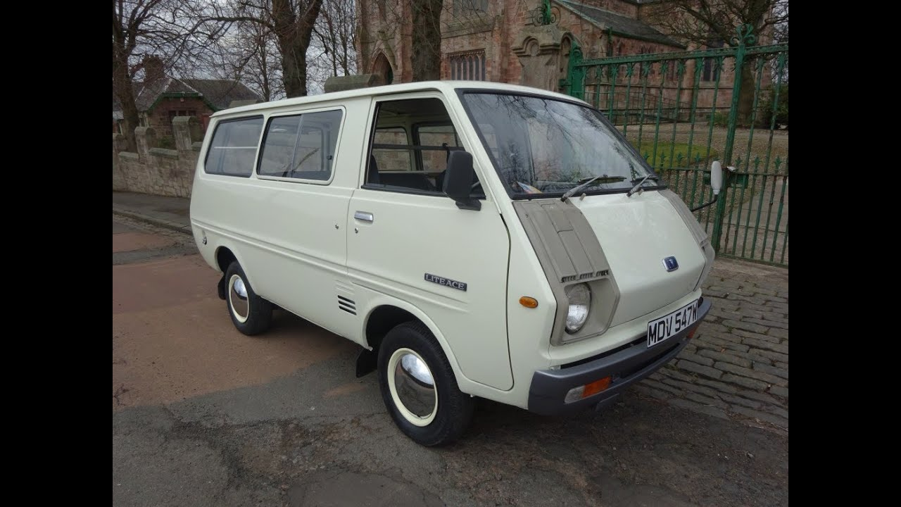 For Sale Ultra Rare 1978 Classic Toyota Liteace Day Van At